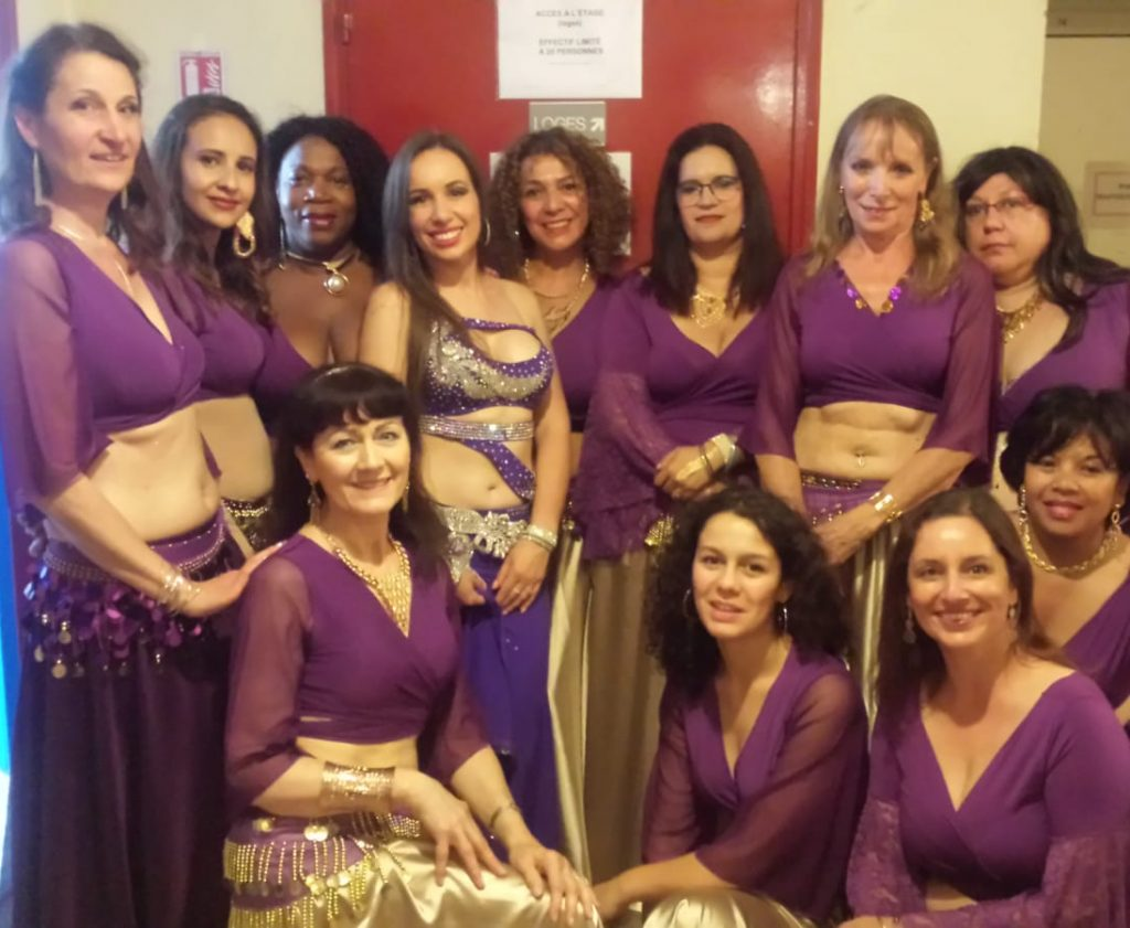 Cours de danse orientale à Torcy